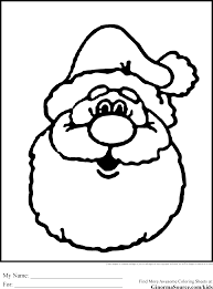 Small Picture Christmas Coloring Pages for Kids Santa Coloring Pages
