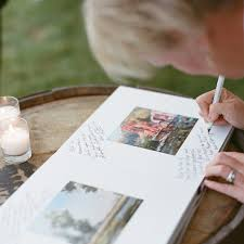 How To Get Wedding Guests To Sign Your Guest Book Martha Stewart