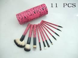 mac makeup gift sets uk professional soft cosmetic brushes set 11pcs set
