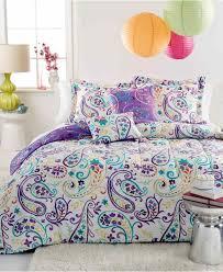 sets purple for s su com su teen bedding sets purple com comforter girls stylish for