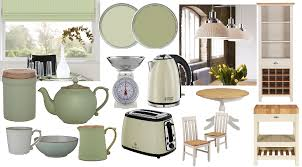 Country Kitchen Accessories Pale Green And Cream Country Kitchens