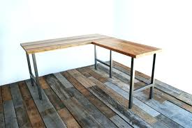 reclaimed wood office desk. Reclaimed Wood Office Desk The L Shaped Pertaining To .