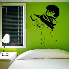 Scooby Doo Bedroom Decorations Online Get Cheap Scooby Doo Wall Stickers Aliexpresscom