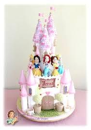 Disney Princess Castle Birthday Cake Ideas Techniques Class Tekhno