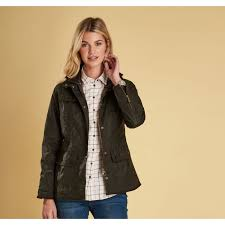 barbour las utility waxed cotton jacket