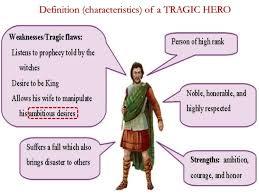 macbeth tragic hero madman definition characteristics of a tragic hero