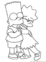 bart simpson coloring pages lovely simpsons coloring pages of 20 inspirational bart simpson coloring pages