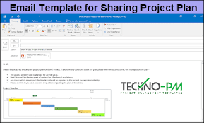 Template Email Outlook Outlook Email Template For Project Managers Project