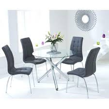 round glass dining table set round glass dining table set for 4 new residence and chairs