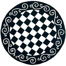 white fur circle rug black and sweet round area new rugs circular uk