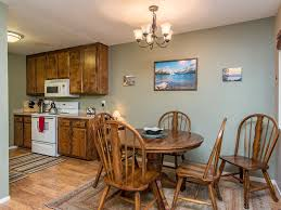 dining area table for 4 in the eat in kitchen s breakfast nook
