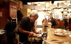 chef jose duarte is one of several boston area chefs who lead cooking demonstrations at