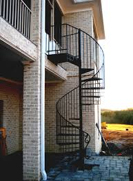 Small Picture Metal Spiral Stairs Exterior metal outdoor spiral staircase