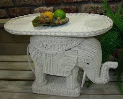 Foxy Furniture For Living Room Decor With Wicker Elephant Table :  Entrancing Furniture For Living Room