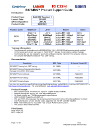 B276 B277 Product Support Guide Manualzz Com