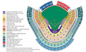 Dodgers Seating Chart 2017 65 Cogent Dodger Stadium Seating Chart Prices