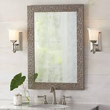 allen + roth 24-in x 30-in Rectangular Framed Bathroom Mirror
