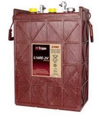 trojan battery company lre v flooded battery whole solar trojan battery company l16re 2v flooded battery