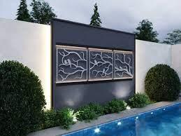 birds outdoor metal wall art 3 piece