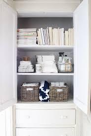 Narrow Linen Cabinet Linen Closet Door Ideas Roselawnlutheran