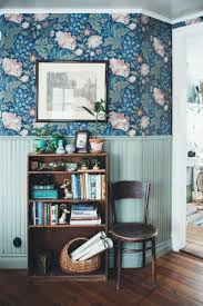 Wallpaper Living Room Designs 17 Best Ideas About Blue Floral Wallpaper On Pinterest Pretty
