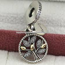 2019 925 sterling silver 14k real gold family heritage dangle charm bead fit european pandora style jewelry bracelets necklaces pendant from vivipandora