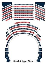 26 Comprehensive Nch Seating Map