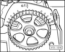 volkswagen cabrio timing belt diagram 2001 2 0 cabrio single graphic