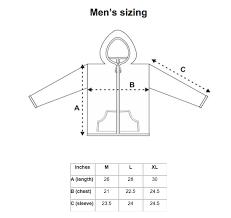 Men S Sweater Size Chart Pierce Sweater Light Natural