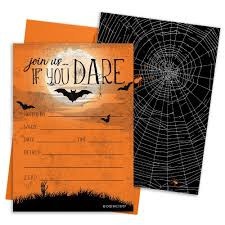 Halloween Invitations Cards Halloween Party Invitation Cards And Envelopes 12 Count