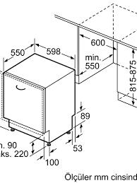 Siemens SN636X02MT Ankastre Bulaşık Makinesi ürünü turkuaztrade.com'da