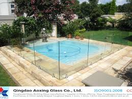 Pool Fence Designs Photos China Clear Toughened Tempered Glass For Swimming Pool Fence