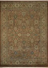 red and tan area rug living canning hand knotted wool brown rugs cream