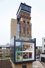 Water Tower Home Derelict To Divine Charlie Chaplins London Water Tower Home