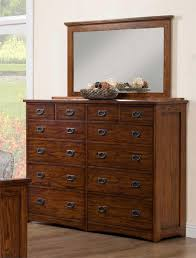 Medium Oak Bedroom Furniture Colorado Medium Oak 12 Drawer Dresser By Winners Only