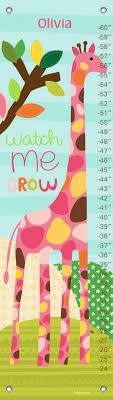 Watch Me Grow Chart Watch Me Grow Girl Growth Charts