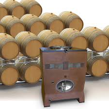 stack wine barrels. NuBarrel™ \u003d 4 Oak Barrels Stack Wine