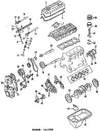 parts com® plymouth engine crankshaft bearings rear main seal 1990 plymouth laser rs l4 1 8 liter gas crankshaft bearings