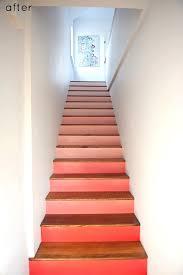 Basement Stair Designs Cool Remodelaholic 48 Carpet To Hardwood Stair Remodel