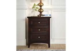 Queen Storage Bedroom Set 4Pcs Dark Mahogany WSLDM5091 A-America ...