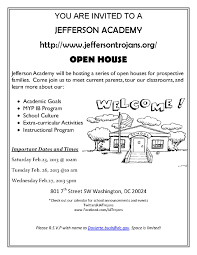 Jefferson Academy Open Houses On February 2013 Capitol Hill