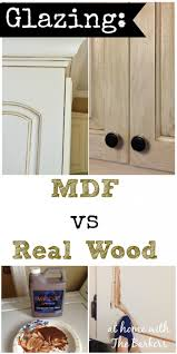 installing the glazing kitchen cabinets. Glazing MDF Versus Real Wood Kitchen Cabinets Installing The
