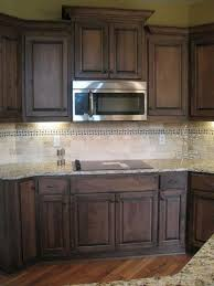 92 Amazing Kitchen Backsplash Dark Cabinets