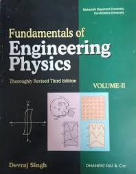 PDF) Fundamentals of Engineering Physics, Vol-II