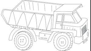 Coloring Pages Of Dump Trucks Truck Coloring Pages Free Fire Truck