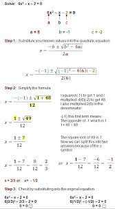 quadratic equation in real life math e quadratic formula is a great meod for solving any