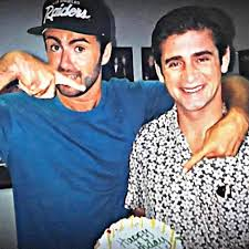 george michael and anselmo feleppa. Unique George Image May Contain 1 Person Smiling And George Michael Anselmo Feleppa