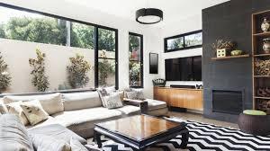 black and white home decor trend