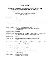 events institute for the study of strategy and politics pearl harbor final agenda
