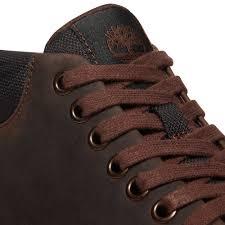 timberland mens bradstreet chukka leather boots boots dark brown jean scene